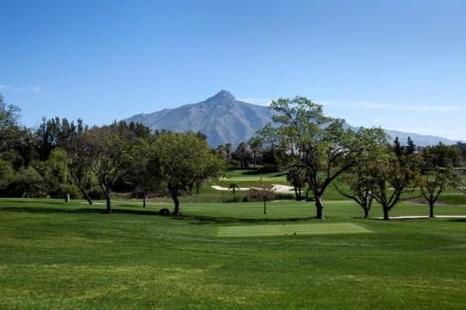 frontline golf Las Brisas views to La Concha