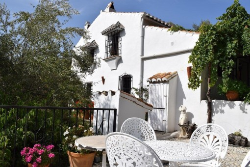 Beautiful challet with wonderful gardens and fantastic mountain views in Torrox, Andalusia