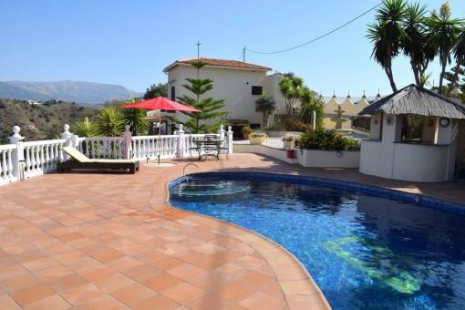 Villa en Comares