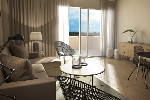 1 and 2 Bedrooms Apartments with rental option