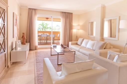 Apartamento en Elviria