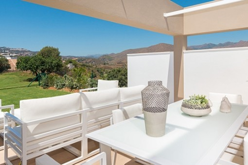 New development of apartments and build terraced homes, La Cala Golf Resort, Mijas, Malaga