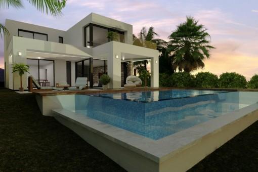 Villa en Mijas para vender
