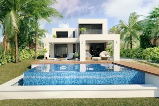 Posible diseño de la villa