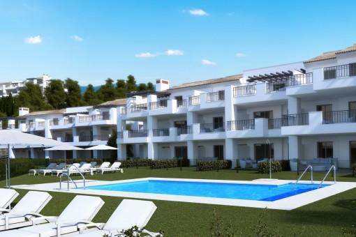 Apartamento en Mijas