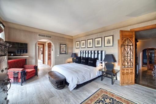 Idílico dormitorio en suite