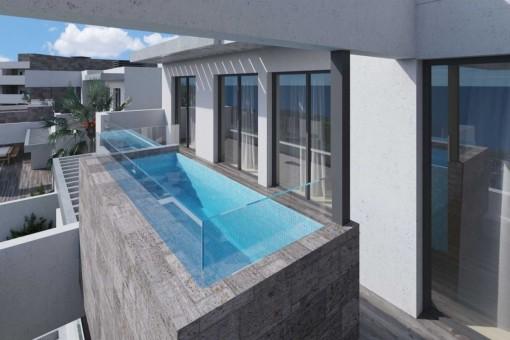 Apartamento de alta calidad con piscina privada