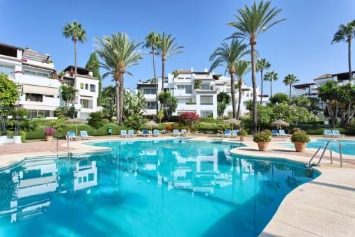 Increíble ático en la urbanización Alcazaba Beach - Estepona, New Golden Mile