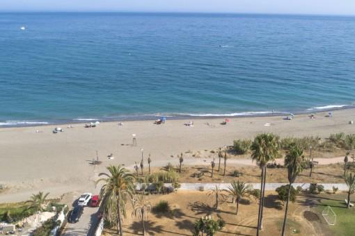Accesso directo a la playa