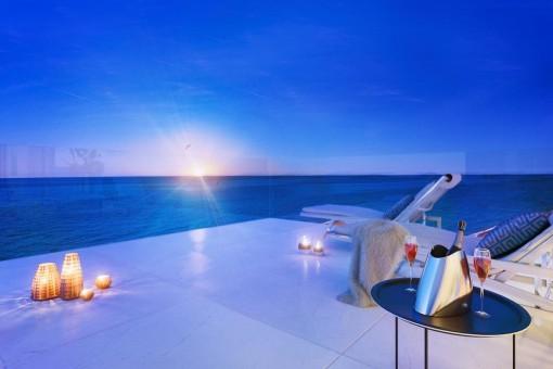 Hamacas con vistas al mar