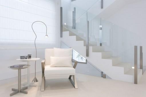 Concepto viviente en estilo elegante