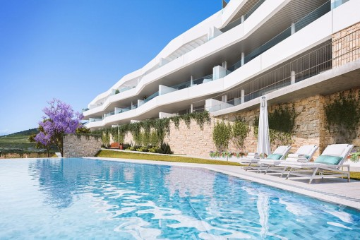 Apartamentos modernos en un entorno tranquilo de Estepona