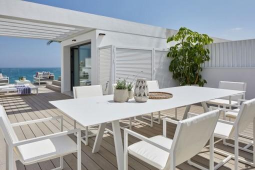 Otra terraza con vistas excelentes