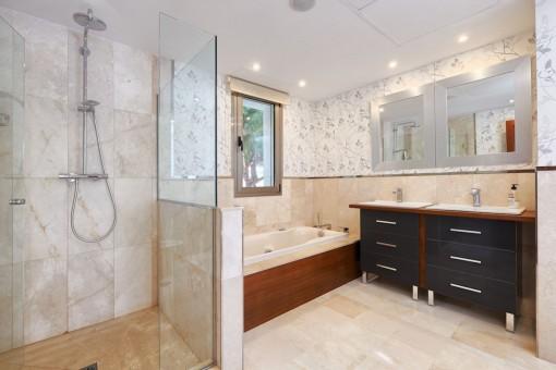 Uno de 5 baños
