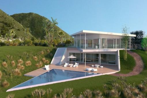 Villa in Benalmádena