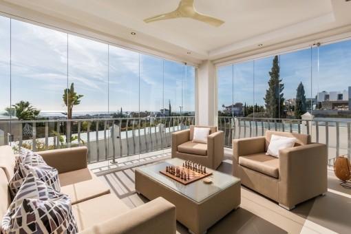 Apartamento de invitados con vistas  impresionantes al mar