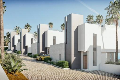 Precio increíble para este moderno chalet sobre plano con 3 dormitorios en La Cala de Mijas