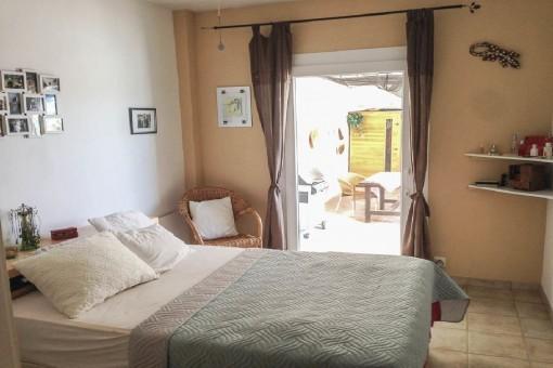 Dormitorio doble con acceso al exterior