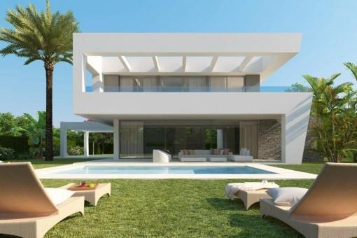 Marbella villas en marbella de venta for Moderne villen